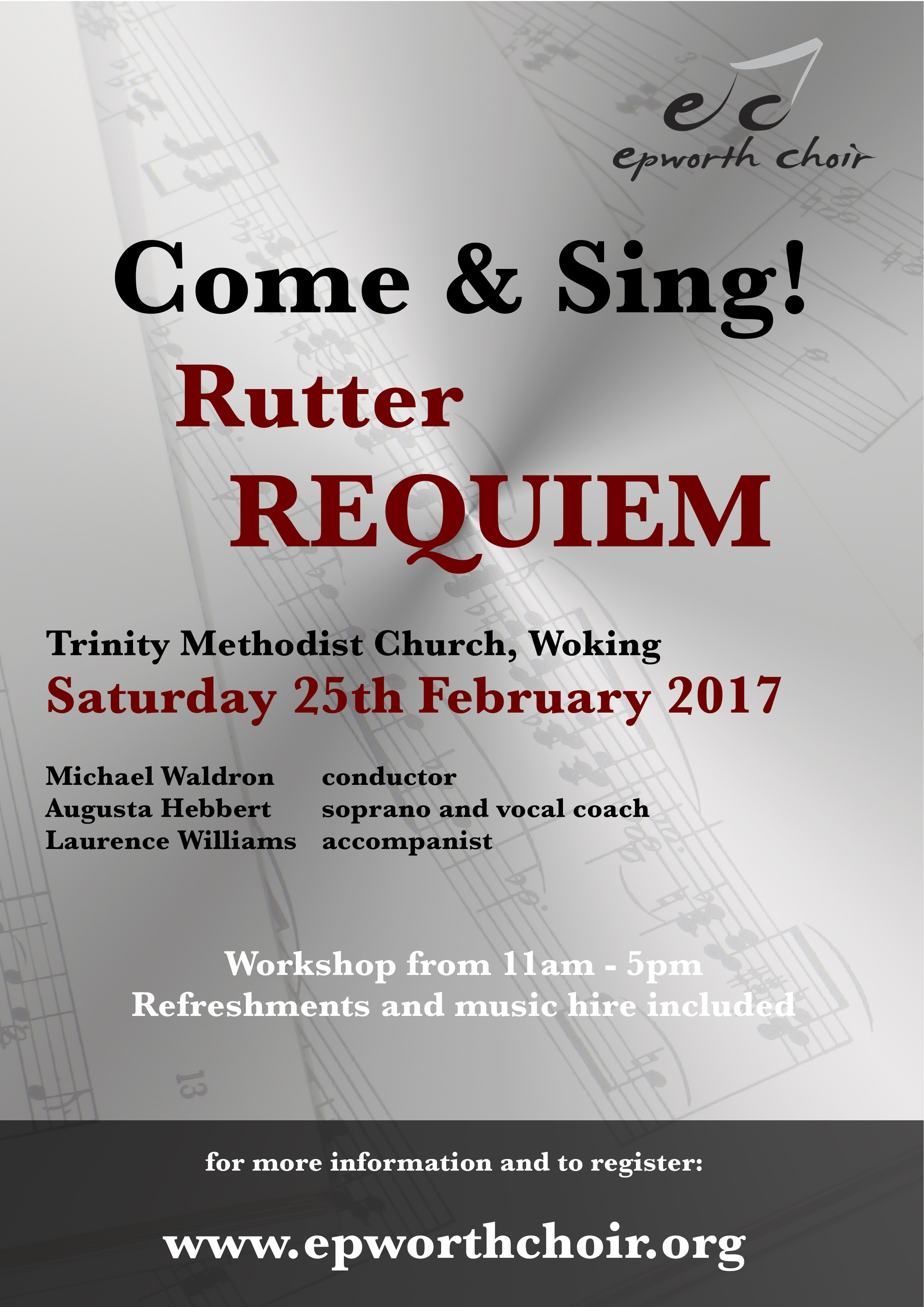 Come and Sing Rutter's Requiem