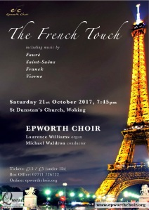 The French Touch concert poster